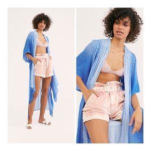 FP One Angelica Dip Dye Kimono NWT XS-S
